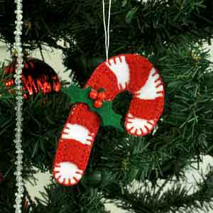 christmas tree ornaments candy cane